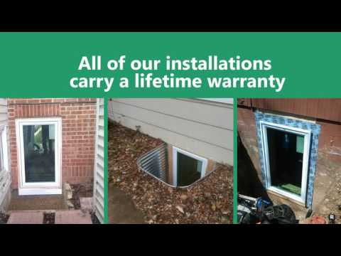 Egress Window Installation in the Twin Cities