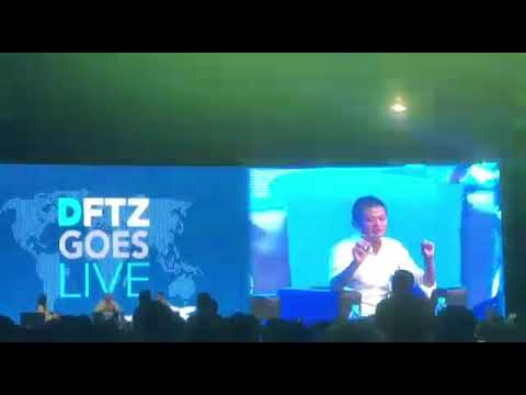 Jack Ma Advice to Malaysian during DFTZ GOES LIVE