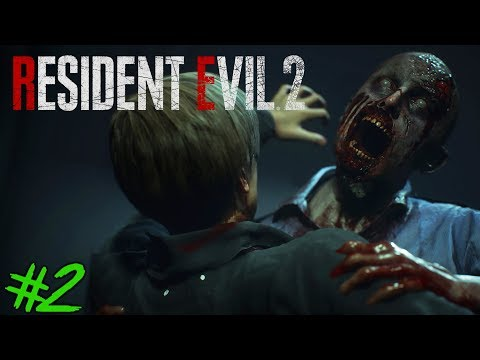 RESIDENT EVIL 2 : Lets Play #2 [FACECAM] - DAS HORROR LABYRINTH !!
