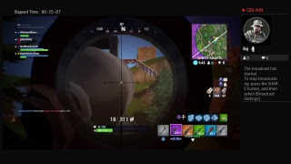 Playing Fornite with the squad {PS4 Stream}