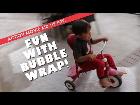 Fun with Bubble Wrap!