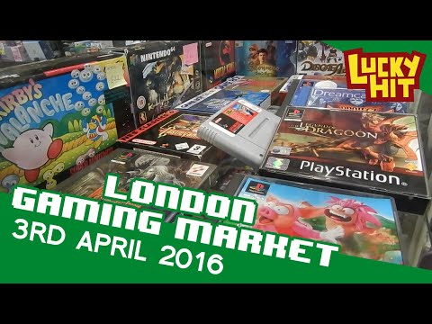 London Gaming Market 3rd April 2016 - Lucky Hit