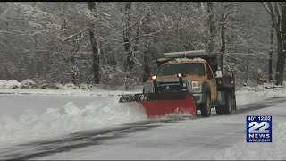 Snow the cause of some Hilltowns school cancellations
