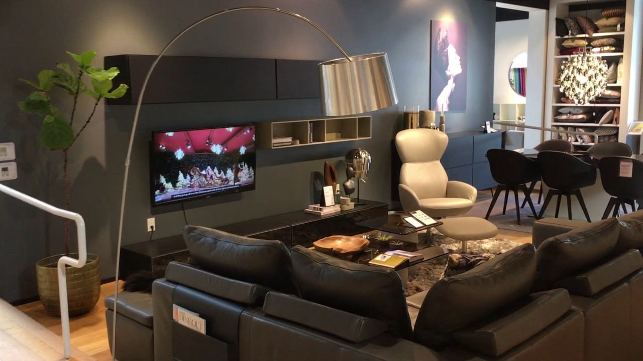 Cb2 Furniture Store In West Hollywood Youtube
