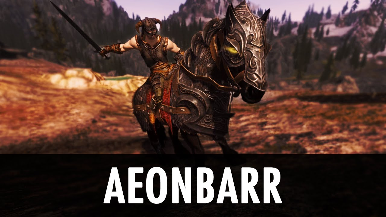Aeonbarr - a Unique and Summonable Horse (CH-Friendly) at