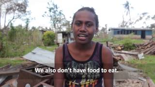 Minnie:Junior: Life after Cyclone Pam