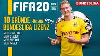 FIFA 20 ● 10 GRÜNDE für eine mega BUNDESLIGA LIZENZ