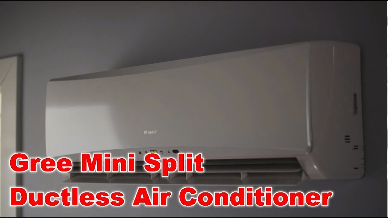 Gree Ductless Mini Split Air Conditioners