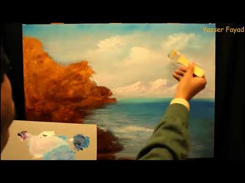 FAST Learn Mediterranean Oil Painting  in 10 Mins | By Yasser Fayad