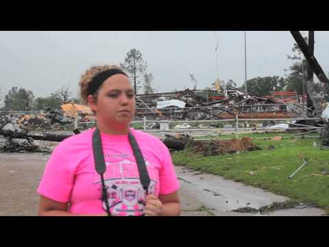 Van, Texas Tornado Video