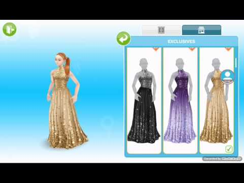 The Sims Freeplay Vip Clothing Overview Youtube