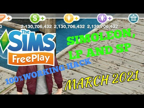100% WORKING!!The Sims Freeplay Hack IOS And Android FEBRUARY 2020 | Unlimited Simoleon, LP And SP