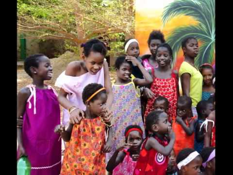 Little Dresses for Africa Fashion Show Guinea Bissau W Africa 2012