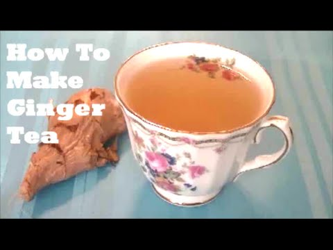 How To Make Ginger Tea | Weight Loss