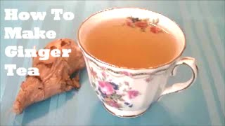 How to Lose Weight Fast with Ginger Tea - Dulce Karamelo