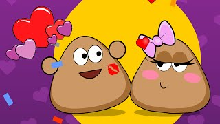 Pou Kissing Game - Pou Cooking Raffaello Walkthrough