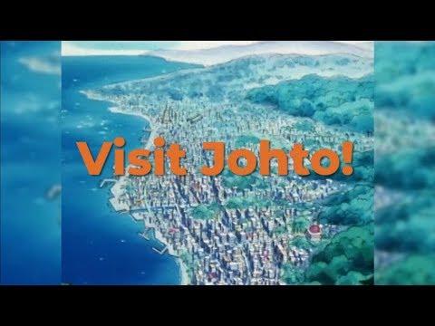 Explore Pokémon: Johto Region