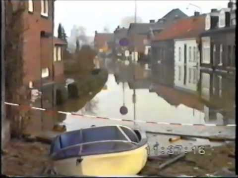 watersnood Limburg 1993 Herten