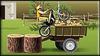 Stunt dirt bike - Game Walkthrough (1-10 lvl)