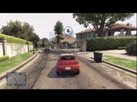 GTA 5 Online - Slaying Random Players + Stealing Expensive Cars & Kamikaze Attempt On A Player