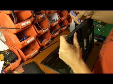 TOSHIBA SATELLITE PRO A300 Wymiana Gniazda Zasilania | Toshiba Power Jack Replacement