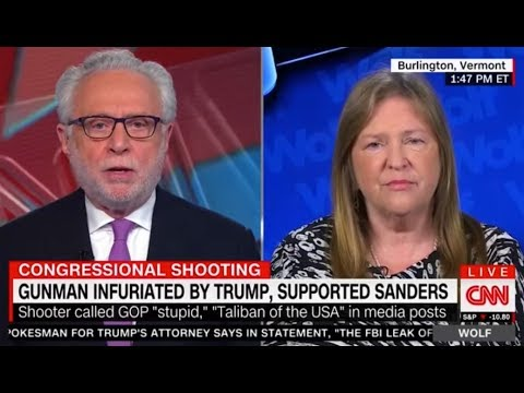 Jane Sanders Confronts Wolf Blitzer Over CNN & Media