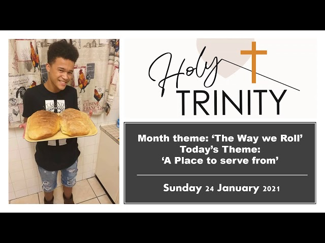 Holy Trinity Church Worship Service, Sunday 24 January 2021