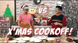 Christmas Cook-off with Xiao Ming & Bobby!