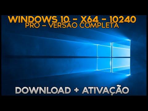 Windows 10 Pro 64bit - Download + Ativação
