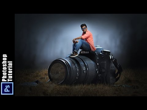 PHOTOSHOP MANIPULATION TUTORIAL  | Boy Love His Camera Photoshop Manipulation