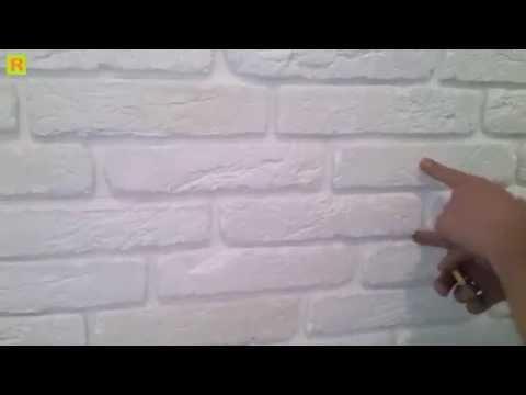 Как клеить клинкером (кирпич гипсовый) ремонт
