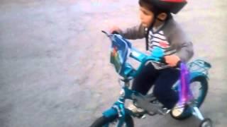 Идан получил велосипед