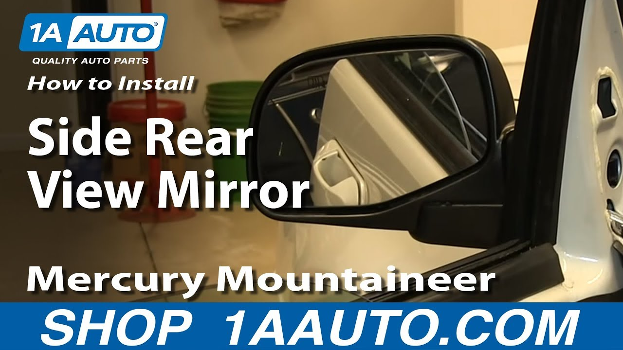 NEW LEFT POWER MIRROR HEATED FITS 2002-2005 MERCURY MOUNTAINEER FO1320212