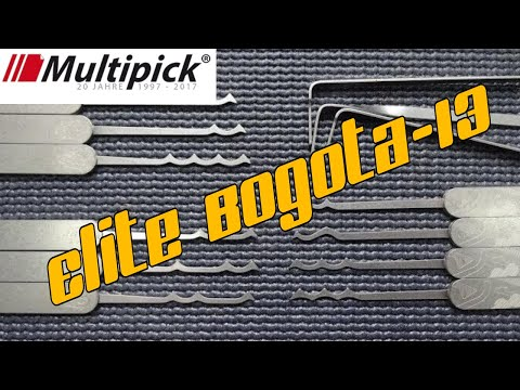 (1232) Review: Multipick's Bogota-13 Rake & Lock Pick Set