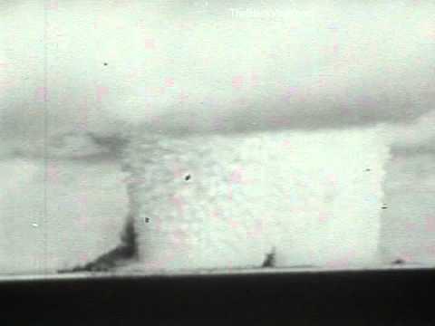 Underwater Atomic Bomb Test At Bikini Atoll, 1946