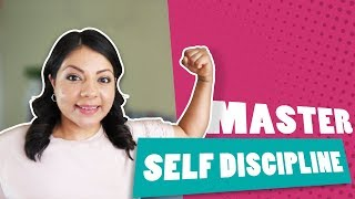 How To Build Self Discipline  Master And Maintain Self Discipline Daily