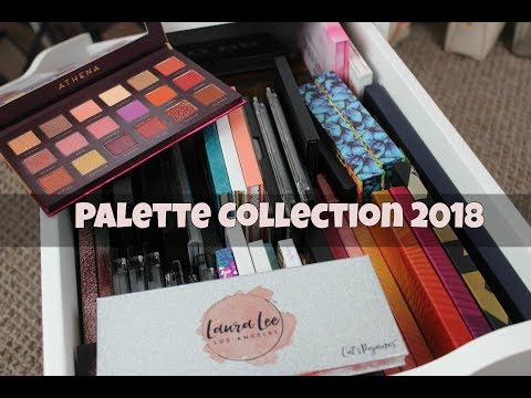 My Palette Collection Feb 2018