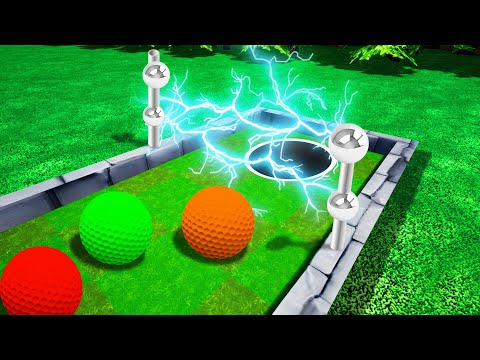 Can You Finish This IMPOSSIBLE TROLL HOLE?! (Golf It)