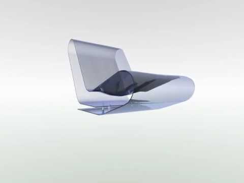 Fotel Model 3d Transparetny