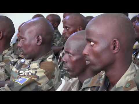 Militeriga DFS oo Si Layaableh loo tababarayo & Qorshaha MD Farmaajo & RW Keyre
