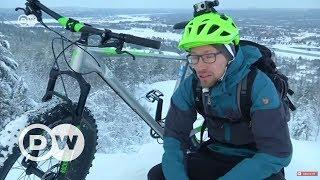Kar bisikleti ile Lappland yollarında - DW Türkçe