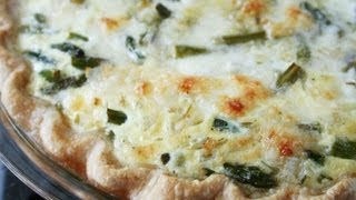 Recipe For Chicken & Asparagus Quiche