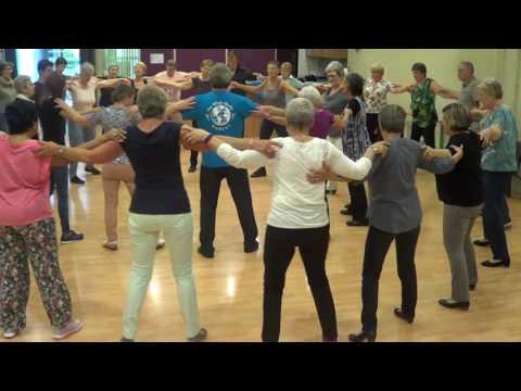 GARSONA Greek Circle Dance   Ira Weisburd   2016 Diest, Belgium Workshop
