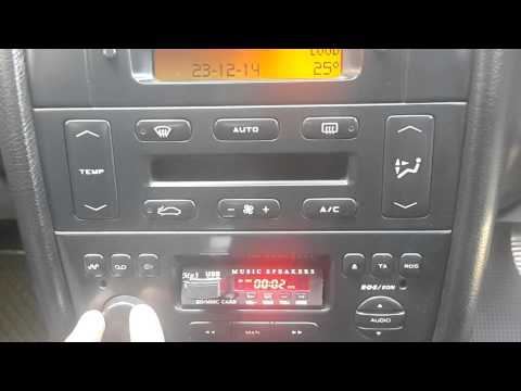 adding a usb funtion to your radio in peugeot 406 youtube. Black Bedroom Furniture Sets. Home Design Ideas