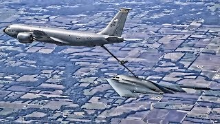 B-2 Spirit Bomber In-Flight Refueling