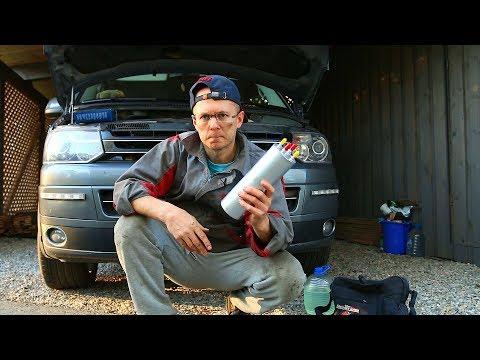 Как Правильно заменить топливный фильтр на дизеле. Заблуждения про VW Т5