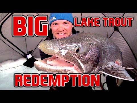 BIG Lake Trout REDEMPTION (Manitoba Northern Region)