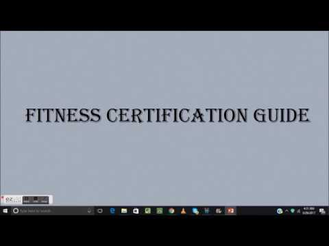 Fitness Certification Guide ACE NASM ACSM ISSA In Hindi