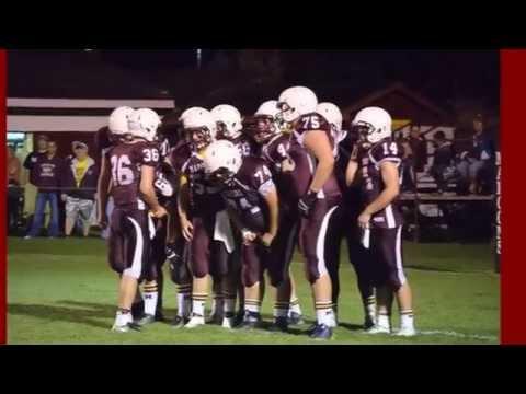 2015 Menominee Maroons Football Team Tribute Video