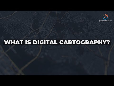 What is Digital Cartography?